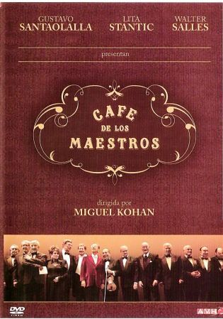 Cafe de Los Maestros on DVD