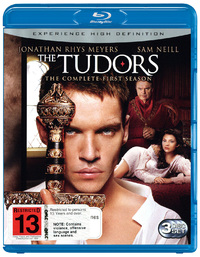 The Tudors: The Complete First Season (3 Disc Set) on Blu-ray image