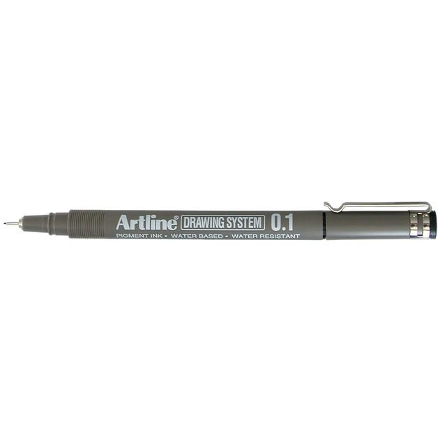 Artline 231 Drawing System Pen 0.1mm Black