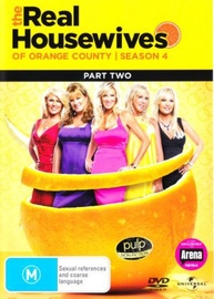 Real Housewives of the Orange County - Season 4 Part 2 on DVD