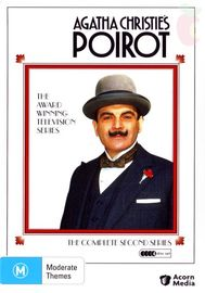 Agatha Christie's: Poirot - Series Two (4 Disc Set) on DVD