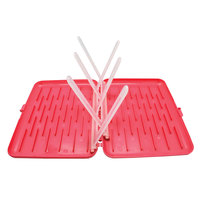 B.Box: Travel Drying Rack - Raspberry