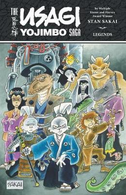 The Usagi Yojimbo Saga: Legends by Stan Sakai image