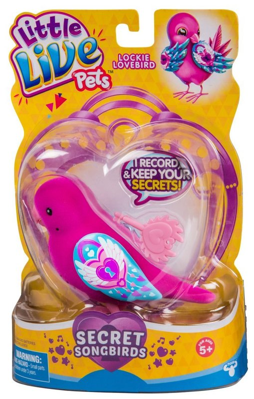 Little Live Pets: Secret Songbird - Lockie Lovebird