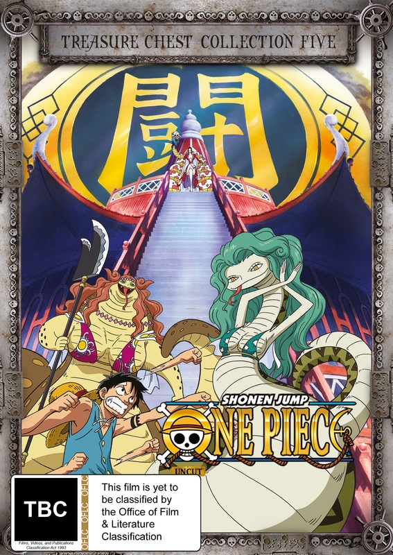 One Piece (Uncut) - Treasure Chest Collection #5 on DVD
