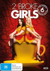 2 Broke Girls - The Complete Sixth Season on DVD