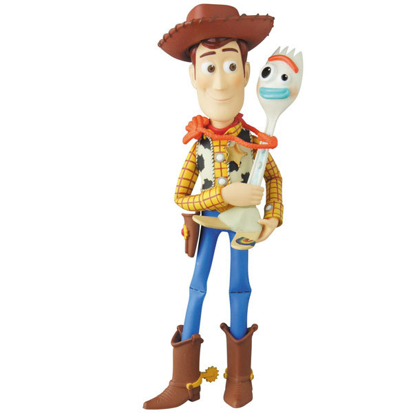 Toy Story 4: Woody & Forky - UDF Figure image