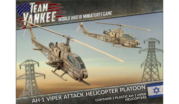 AH-1 Viper Attack Helicopter Platoon