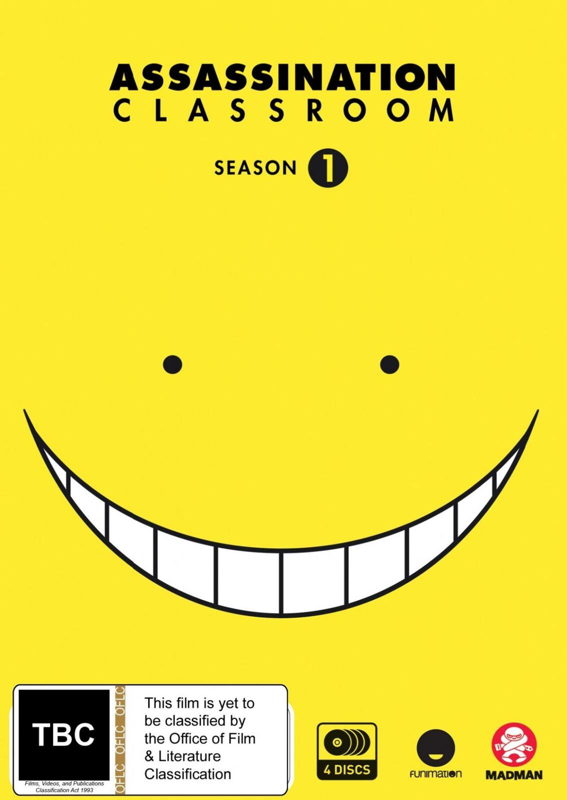 Assassination Classroom - Complete Season 1 on DVD image