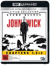 John Wick - 3-Movie Franchise Pack on UHD Blu-ray