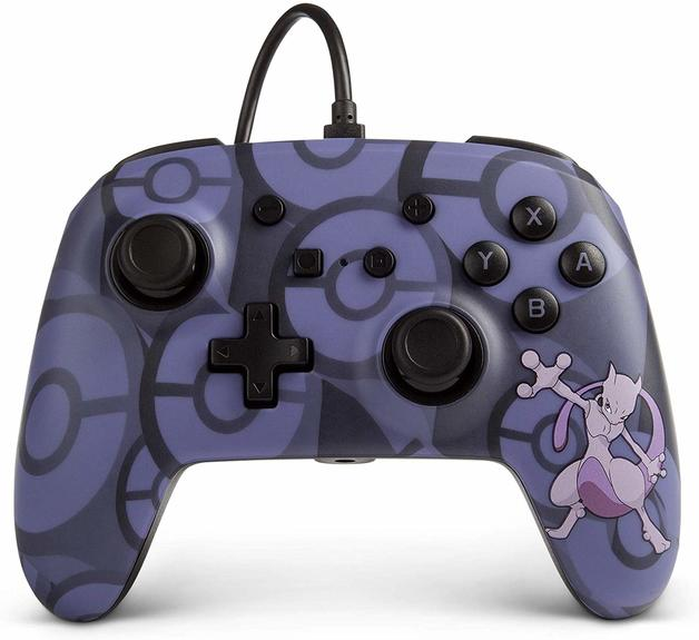 Nintendo Switch Wired Controller - Mewtwo for Switch