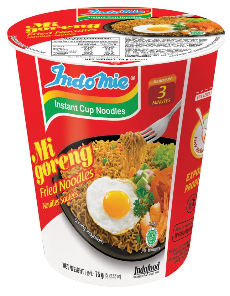 Indomie Cup Noodles - Mi Goreng 75g (12 Pack) image