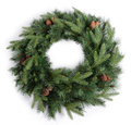 Premium Pinecone Christmas Wreath (60cm)