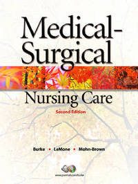 Medical-Surgical Nursing Care: Critical Thinking in Client Care by Elaine Mohn-Brown image