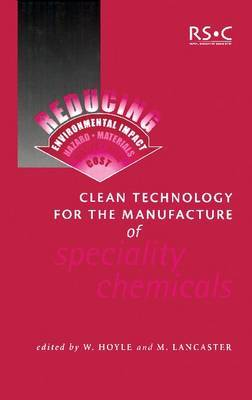 Clean Technology for the Manufacture of Speciality Chemicals image