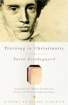 Training Christianity by Kierkegaard Soren image