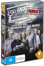 Go Back to Where You Came From - Series 2 on DVD