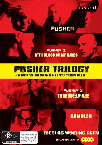 Pusher Trilogy on DVD