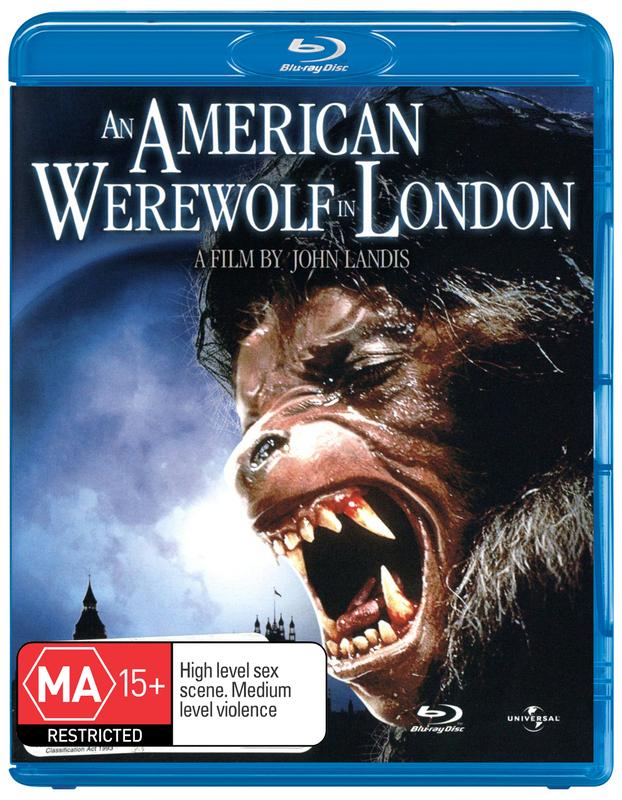 An American Werewolf in London on Blu-ray