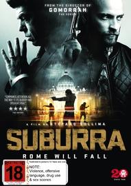 Suburra on DVD
