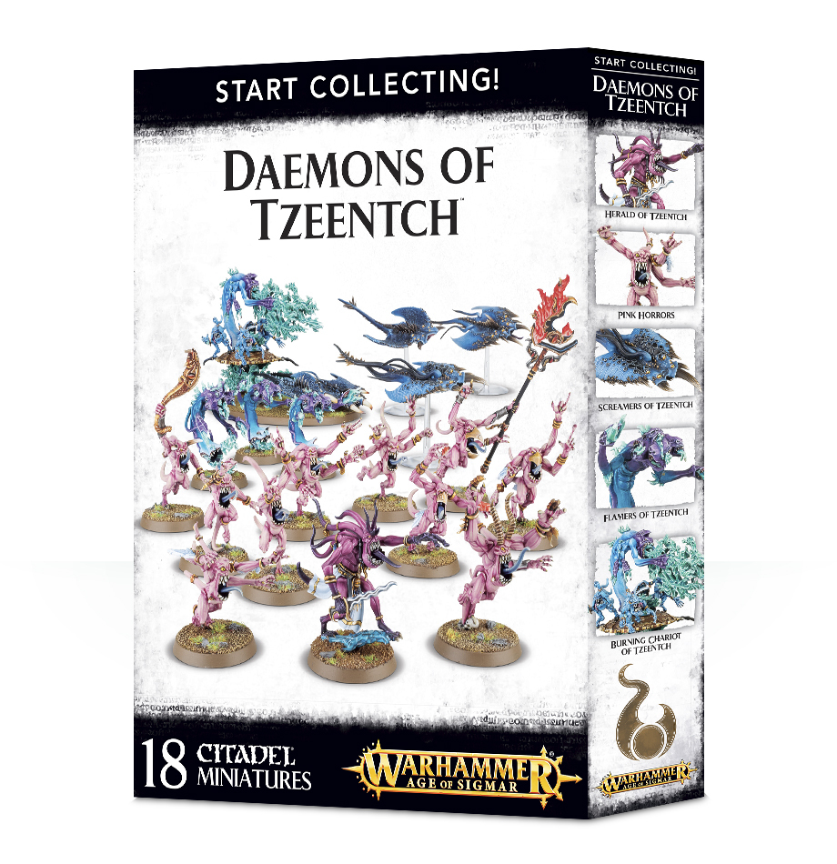 Start Collecting: Warhammer Tzeentch Daemons image