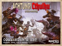 Achtung! Cthulhu RPG: Skirmish Commanders Set