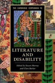The Cambridge Companion to Literature and Disability image