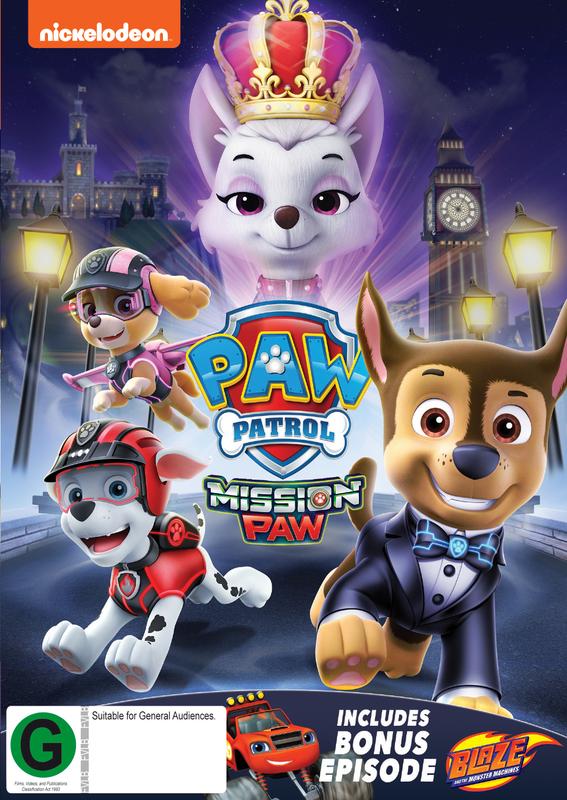 Paw Patrol: Mission Paw on DVD