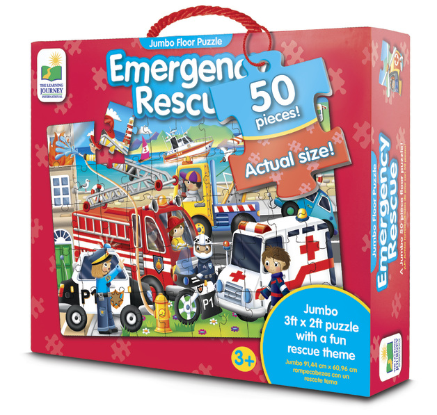 The Learning Journey: Jumbo Floor Puzzle - Emergency Rescue