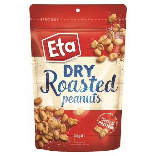 ETA Peanuts Dry Roasted Pouch (200g) image