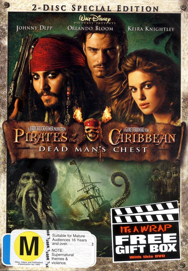 Pirates Of The Caribbean - Dead Man's Chest (2 Discs) on DVD image