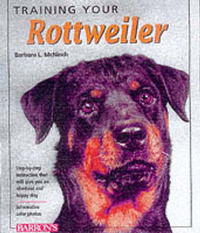 Training Your Rottweiler by Barbara McNinch image