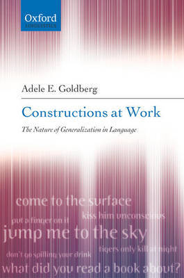 Constructions at Work by Adele Goldberg image