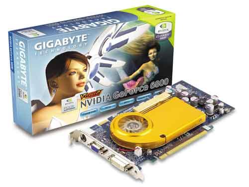 Gigabyte Graphics Card NVIDIA GeForce 6800 256MB PCIE image