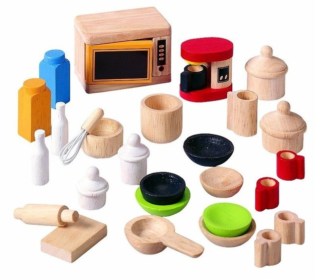 Plan Toys - Kitchen and Tableware