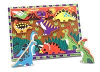 Melissa & Doug: Dinosaurs Chunky Puzzle image