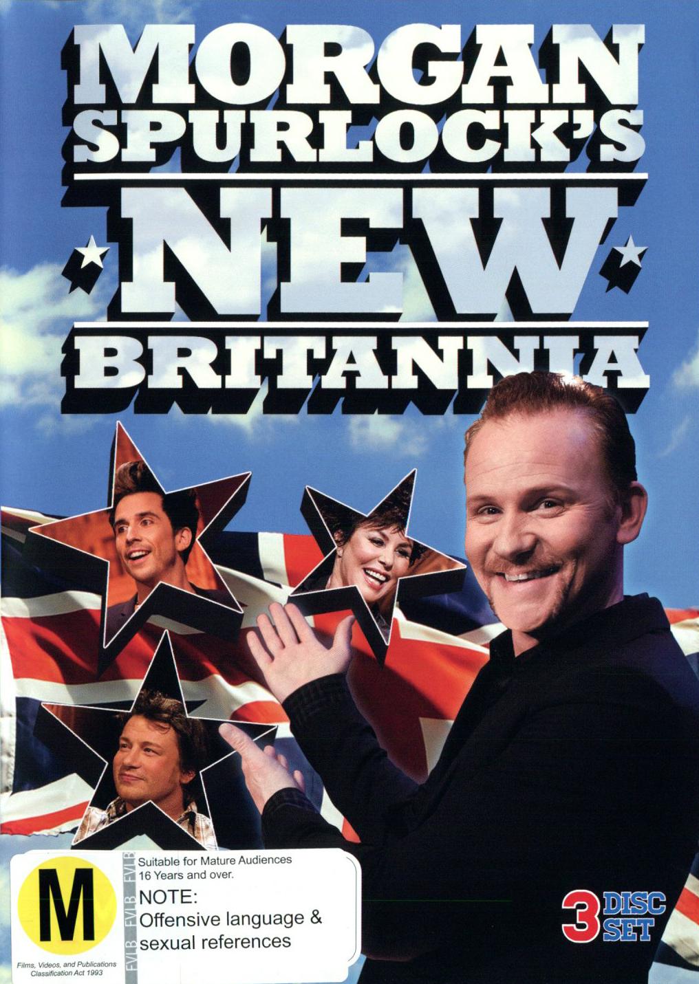 Morgan Spurlock's New Britannia on DVD image