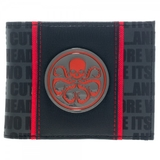 Marvel Hydra Metal Badge Bi-Fold Wallet