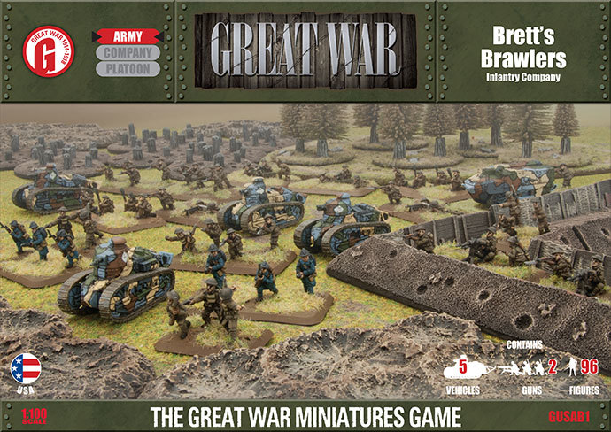 Flames Of War Great War Brett S Brawlers Army Box At