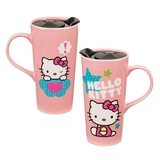 Hello Kitty Ceramic Travel Mug (590ml)