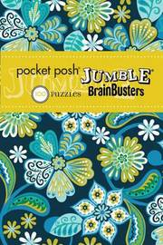 Pocket Posh Jumble BrainBusters 3 by The Puzzle Society