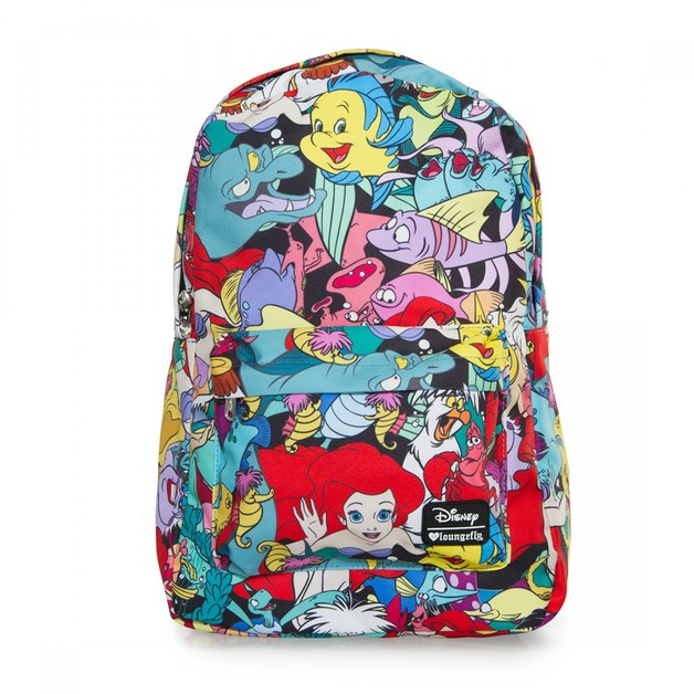 Loungefly Disney The Little Mermaid Character Backpack