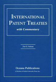 International Patent Treaties with Commentary by Jon Nelson image