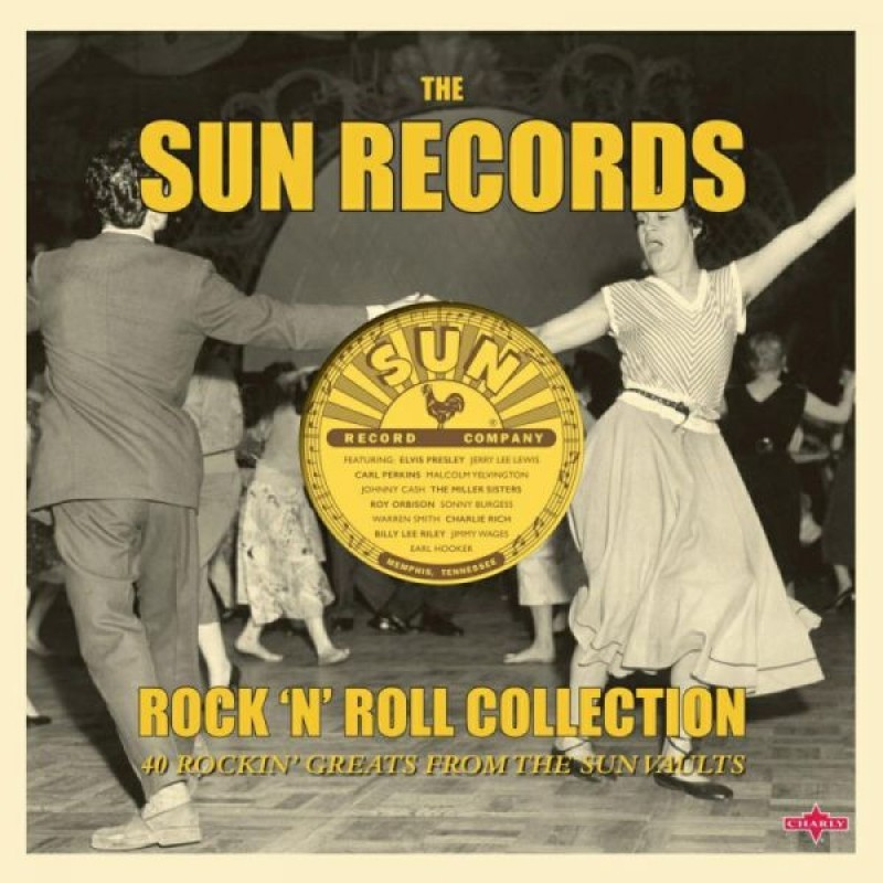 "Sun Records ""Rock N Roll Collection"" (2LP) by Various Artists image"