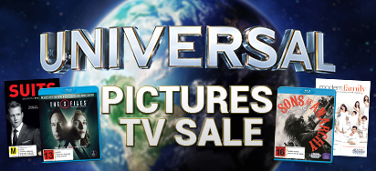 Up to 65% off Universal Pictures TV Shows!