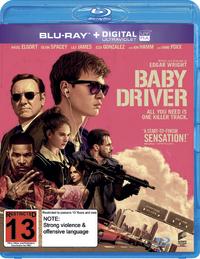 Baby Driver on Blu-ray, UV