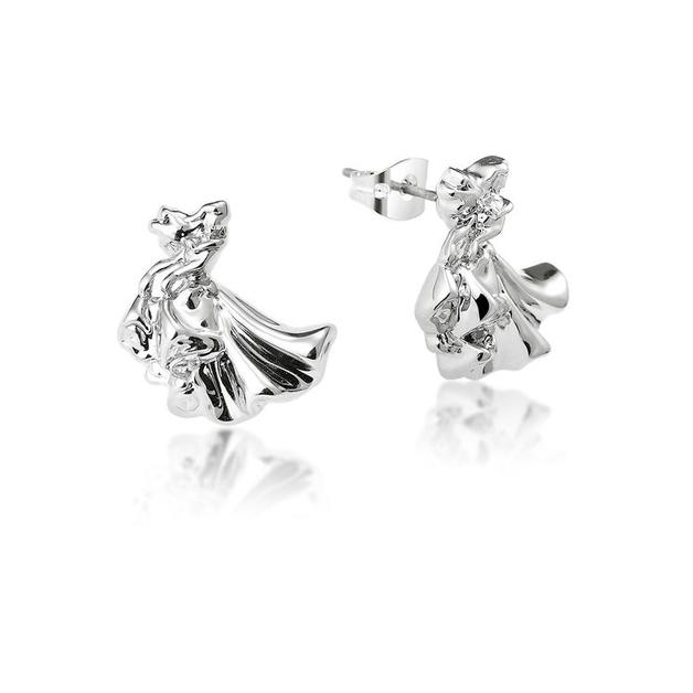 Couture Kingdom: Disney - Princess Aurora Stud Earrings (White Gold)