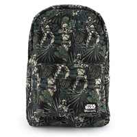 Loungefly Star Wars Boba Fett Leaves Print Backpack image