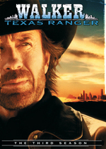 Walker, Texas Ranger - Season 3 (7 Disc Set) on DVD