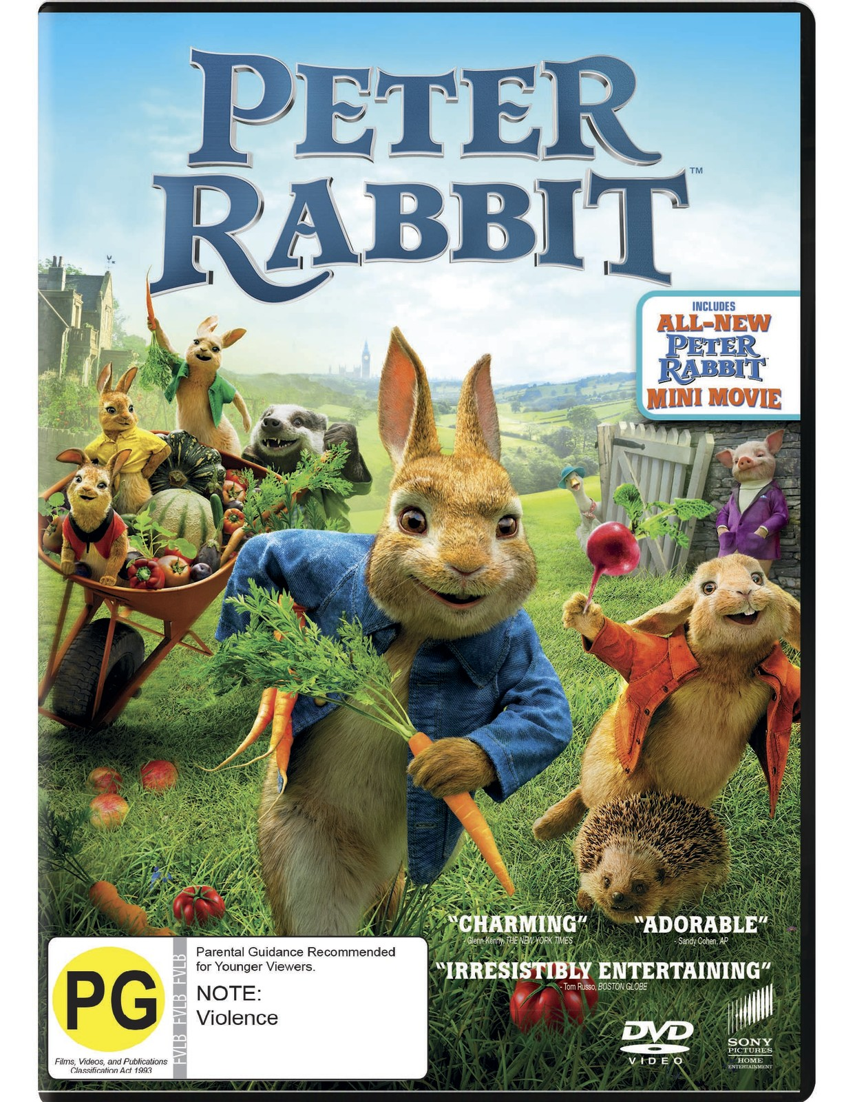 Peter Rabbit on DVD image